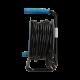 Przedłużacz bębnowy 15 m 4 gniazda 230 V 4x2P+Z ORNO OR-AE-1339/T, turkusowy