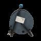 Przedłużacz bębnowy MINI 15 m 4 gniazda 230 V schuko 4x2P+Z ORNO OR-AE-1339/T, turkusowy