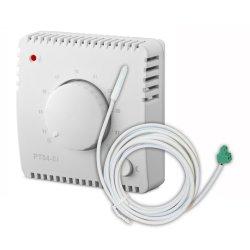 Termostat Elektrobock PT04-EI przewodowy z czujnikiem zewnętrznym regulowany pokrętłem