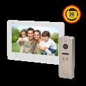 Wideodomofon przewodowy ORNO EXEDRA 7˝ - dotykowy - OR-VID-EX-1033 - 2 kolory