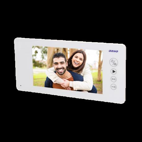 Monitor bezsłuchawkowy LCD 7'' do wideodomofonów ORNO