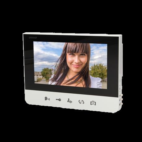 Monitor bezsłuchawkowy LCD 7'' do wideodomofonu ORNO BASTION
