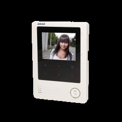 Monitor bezsłuchawkowy LCD 4'' do wideodomofonów ORNO z serii DEFENSA, LEX, MURI, VIA