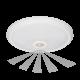Plafon LED ORNO ZONDA OR-PL-6076WLPMR4 16W z czujnikiem ruchu i zmierzchu