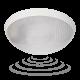 Plafon LED ORNO HELM OR-PL-344WLPPM4 12 W, 4000K z czujnikiem ruchu i zmierzchu