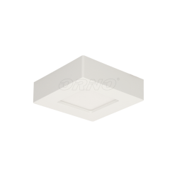 Oprawa sufitowa, natynkowa ORNO LETI LED OR-OD-6060WLX4, 9W, 4000K