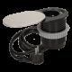 Gniazdo meblowe wpuszczane w blat 1 x 250 V AC z przesuwaną pokrywką, ładowarką USB i przewodem 1,9 m ORNO OR-AE-13124