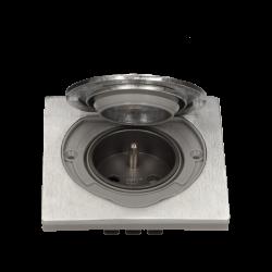 Gniazdo hermetyczne nierdzewne 1 x 250 V ORNO OR-AE-1397 podtynkowe IP55