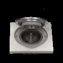Gniazdo hermetyczne nierdzewne pojedyncze 1 x 250 V ORNO OR-AE-1397 podtynkowe IP55