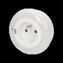 Lampka nocna LED ORNO OR-LA-1404 - do wyboru 3 kolory światła z gniazdem 230 V