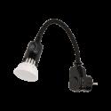 Lampka nocna z żarówką LED ORNO AWA-LW wtyczkowa - 2 kolory