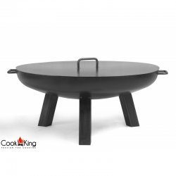 Palenisko ogrodowe z pokrywą CookKing Polo średnica 80 cm