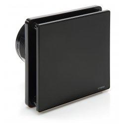 Wentylator łazienkowy STERR BFS100T-B kolor czarny z wyłącznikiem czasowym
