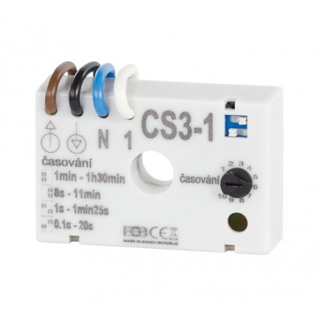 Wyłącznik czasowy Elektrobock CS3-1 do wentylatorów w WC