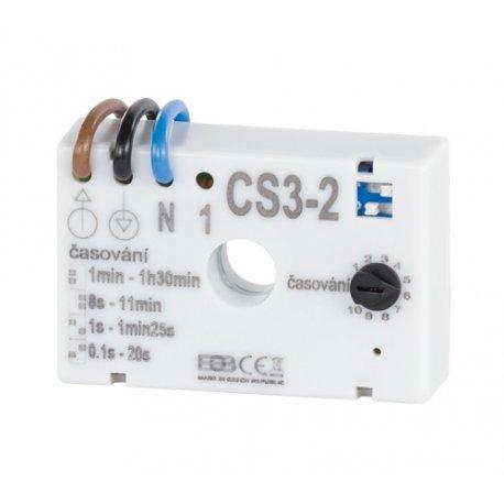 Wyłącznik czasowy Elektrobock CS3-2 do opóźnionego wyłączania oświetlenia