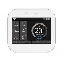 """Termostat programowalny Warmtec ITS z Wi-Fi przewodowy, dotykowy z kolorowym ekranem 3,5"""" - 2 kolory"""