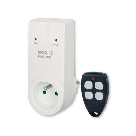 Bezprzewodowy włącznik gniazdkowy Elektrobock WS313