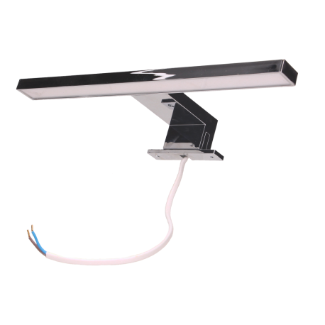 Lampa LED ORNO NORTES OR-OM-6104L4 srebrna na wysięgniku, 5W, 4000K