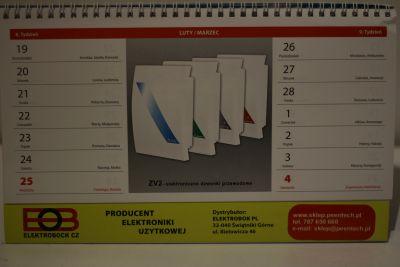 Kalendarz Elektrobock do każdego zakupu za min. 100,00 zł brutto.