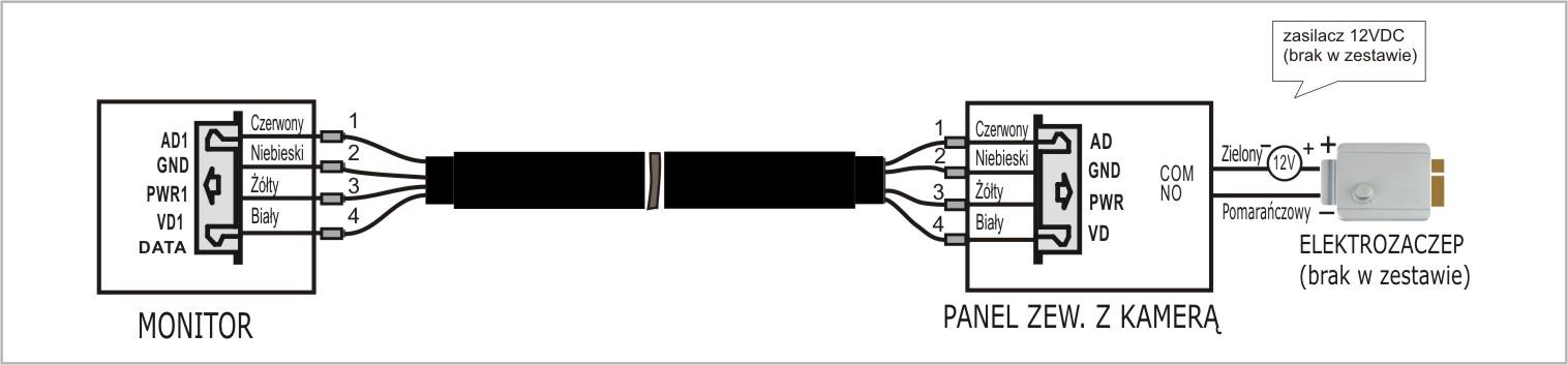Schemat podłączenia